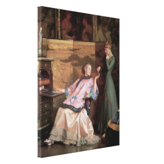 The New Necklace, 1910 Canvas Prints