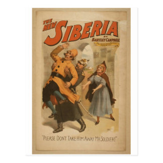 The New Siberia Postcard