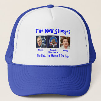 The new stooges trucker hat