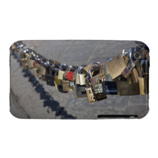 the new tradition of 'locks of love' attached by iPhone 3 cases