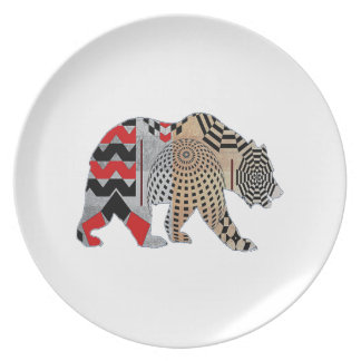 THE NEW WAVE DINNER PLATES