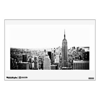 The New York City Skyline And Skyscrapers Wall Sticker