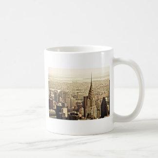The New York City Skyline & the Chrysler Building Coffee Mug