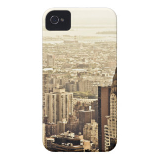 The New York City Skyline & the Chrysler Building iPhone 4 Case-Mate Case