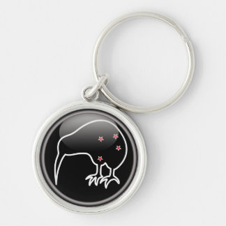 The New Zealand Kiwi and the Southern Cross Keychain