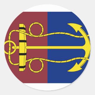 the New Zealand Navy Board, New Zealand Round Sticker