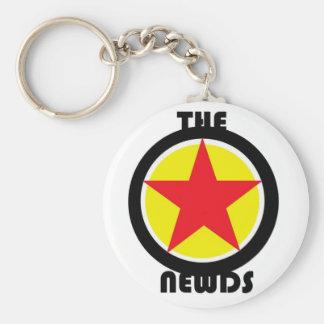 the Newds Star Logo Keychain