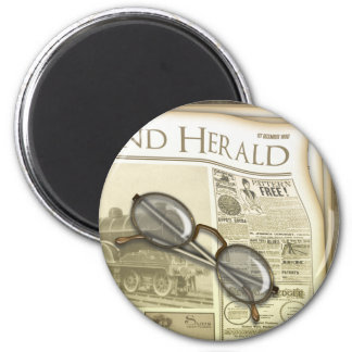 The Newspaper Round Magnets