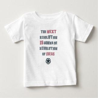 The next revolution's gonna be revolution of ideas t shirt