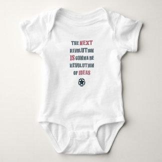 The next revolution's gonna be revolution of ideas tshirt