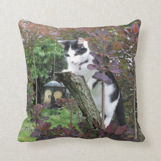 The Nibbler Throw Pillow