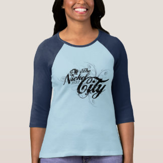 The Nickel City Gothic Style Ladies Tee