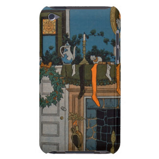 The Night Before Christmas by Denlow, 1903 (colour Case-Mate iPod Touch Case