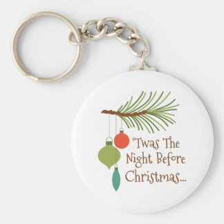 The Night Before Christmas Keychain
