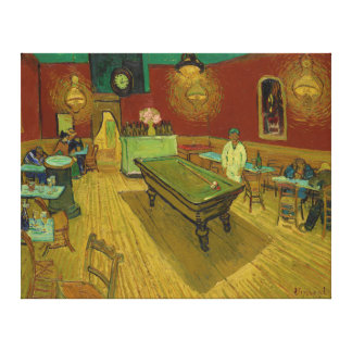 The Night Café by Vincent van Gogh (1888) Canvas Print