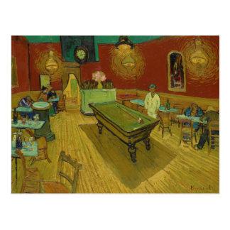 The Night Café by Vincent van Gogh (1888) Postcard