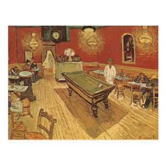 The Night Cafe by Vincent van Gogh Postcard