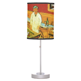 The Night Cafe by Vincent Van Gogh Table Lamp