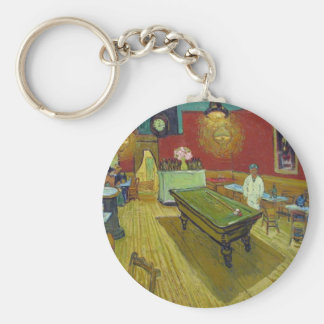 The Night Cafe Keychain