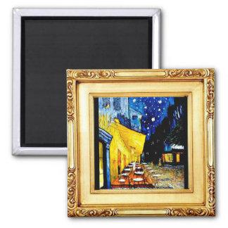The Night Cafe,  Van Gogh, Art,  Magnet