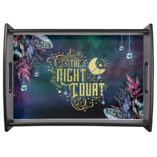 The Night Court tray