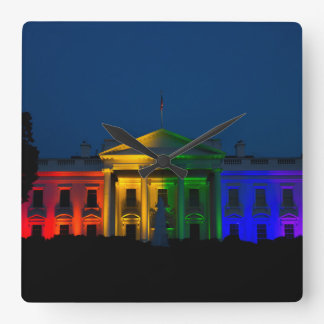 The Night Gay Marriage Became Legal in America Square Wall Clock