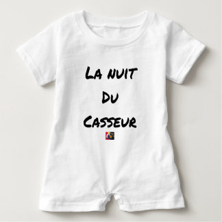 The NIGHT OF the BREAKER - Word games - François Baby Romper