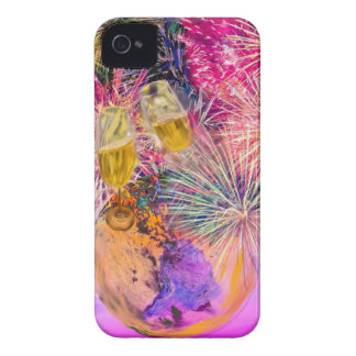 The night shines with fireworks iPhone 4 covers