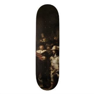 The Night Watch by Rembrandt van Rijn Custom Skate Board