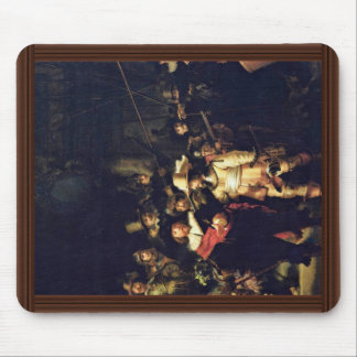 The Night Watch Detail By Rembrandt Harmensz. Van Mouse Pad