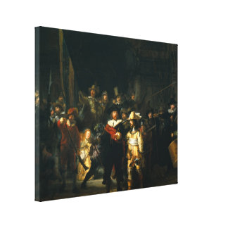 The Night Watch - Rembrandt Canvas Print