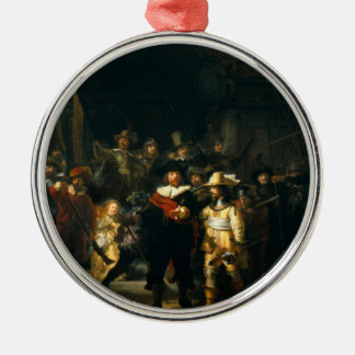 The Night Watch - Rembrandt Metal Ornament