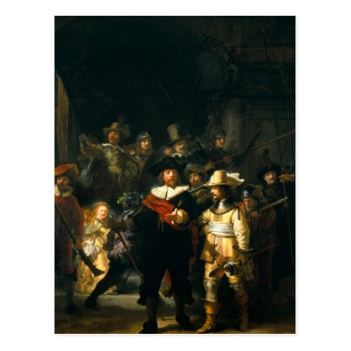 The Night Watch - Rembrandt Postcard