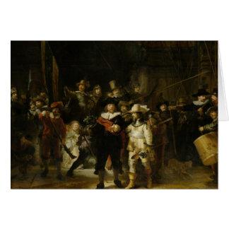 The Night Watch, Rembrandt van Rijn Card