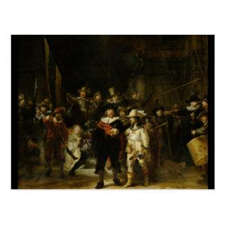 The Night Watch, Rembrandt van Rijn Postcard