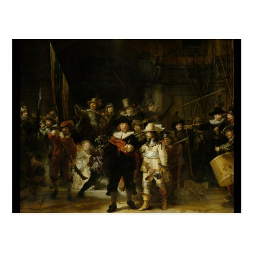 The Night Watch, Rembrandt van Rijn Postcards