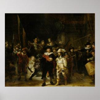The Night Watch, Rembrandt van Rijn Poster