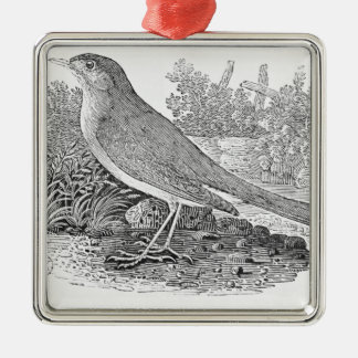 The Nightingale Metal Ornament