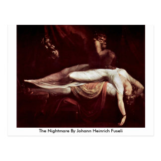 The Nightmare By Johann Heinrich Fuseli Postcard