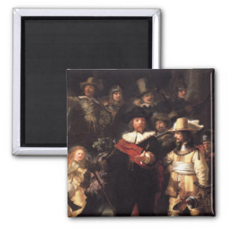The Nightwatch Square Magnet