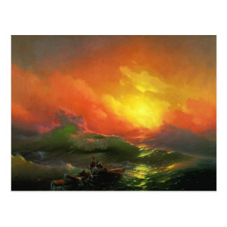 The Ninth Wave by Aivazovsky Ivan Postcard