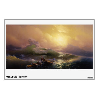 The Ninth Wave Wall Decal