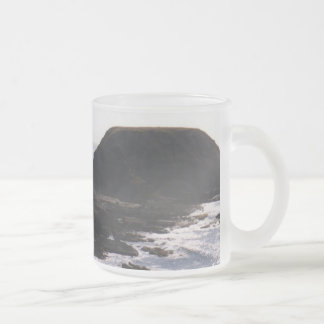 The Nobbies 10 Oz Frosted Glass Coffee Mug