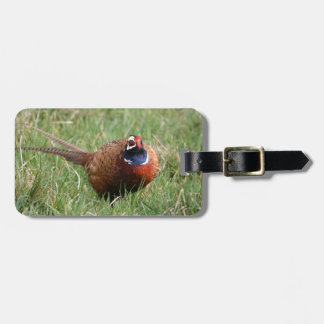 The Noisy Pheasant Luggage Tag
