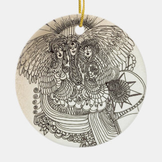 The Norns Ceramic Ornament