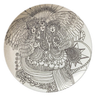 The Norns Dinner Plate