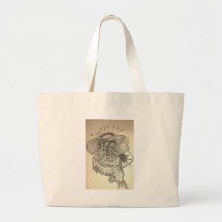 The Norns Large Tote Bag