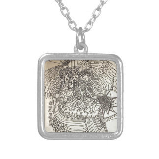 The Norns Silver Plated Necklace