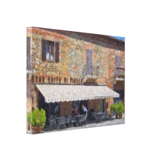 The North of Italy Bellagio Wrapped Canvas