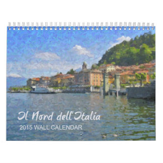 The North of Italy Calendar, 2015 Calendar